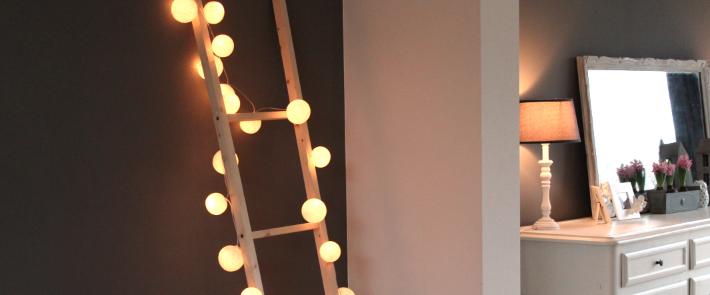 DIY 5 : Echelle lumineuse
