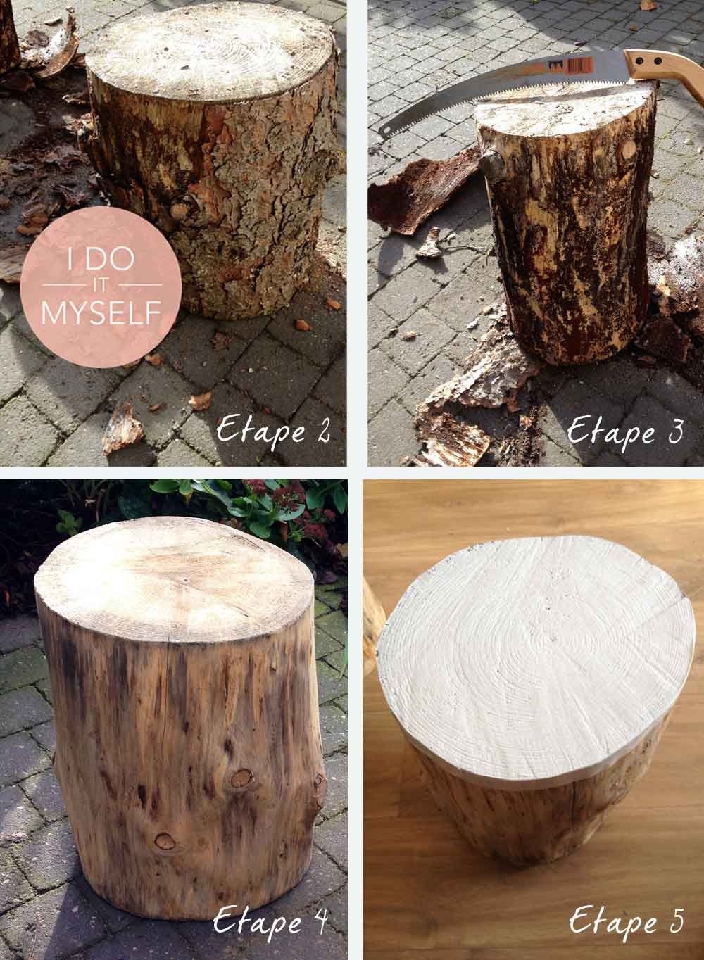 Mobilier Tronc D Arbre diy 7 : tronc d'intérieur - i do it myself