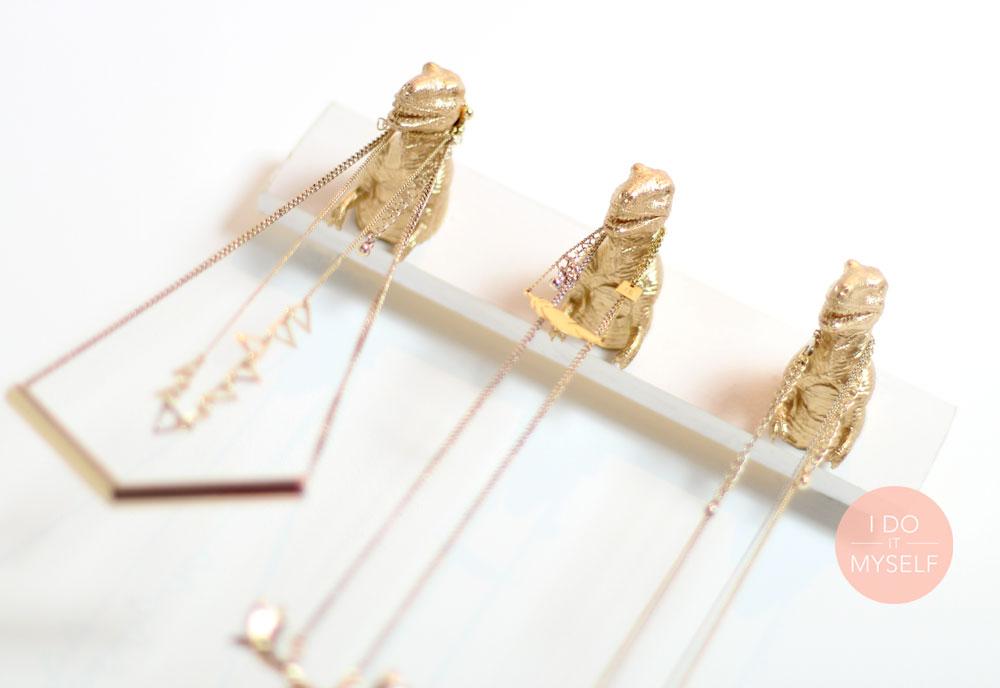 DIY Tuto Porte collier