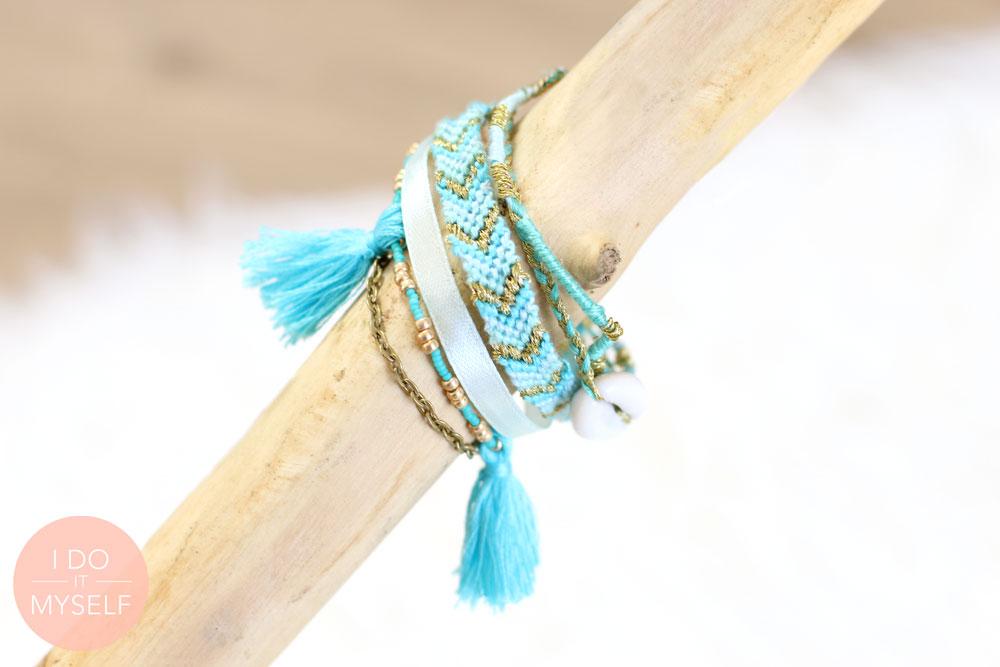 DIY bracelet manchette
