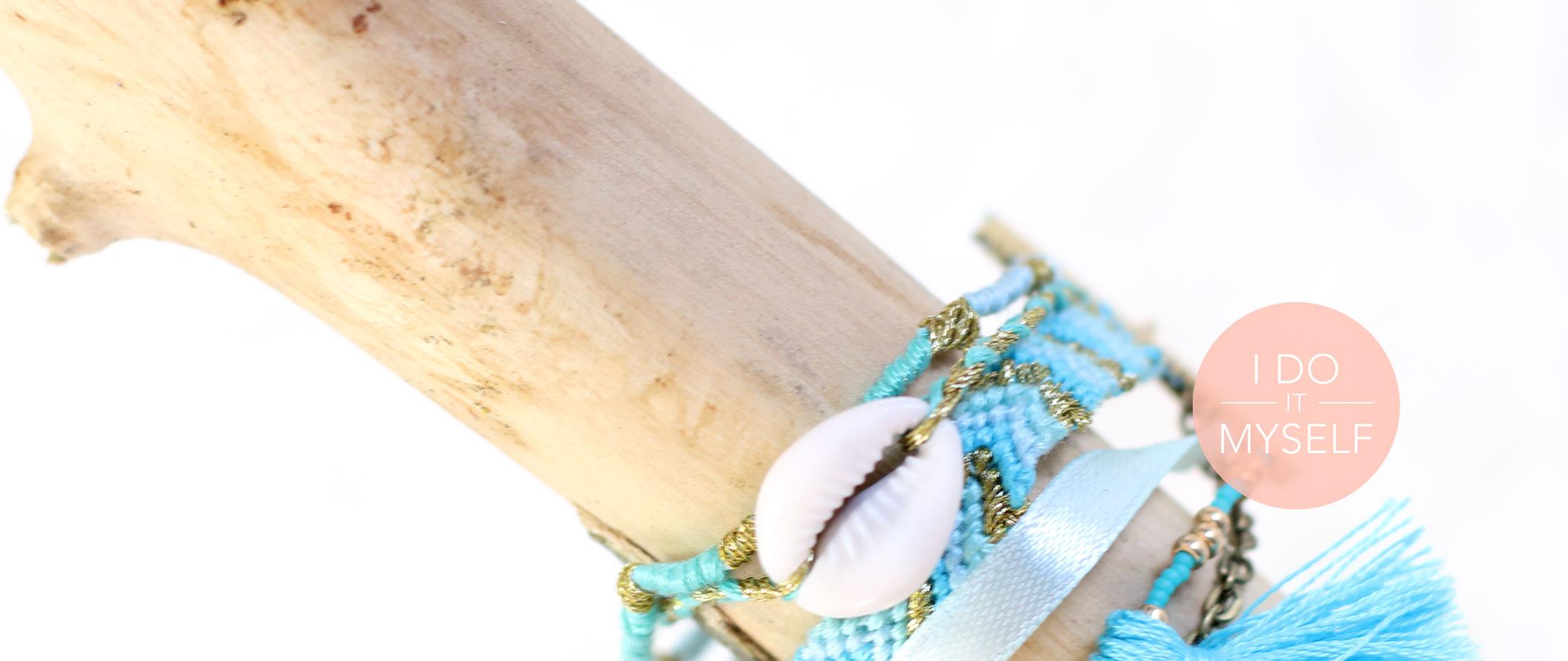 DIY 23 : Bracelet Brésilien