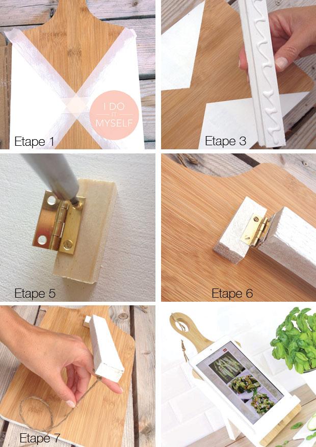 DIY porte ipad