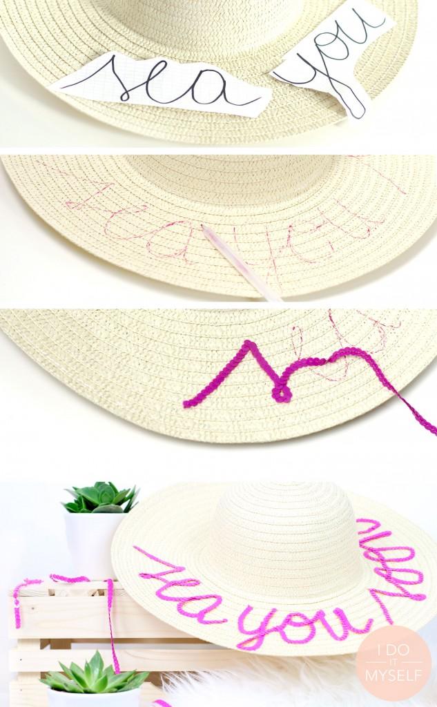 DIY chapeau d'été