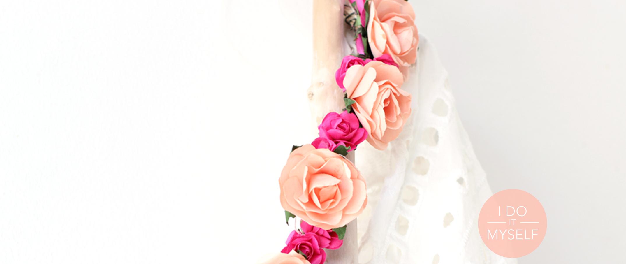 DIY 32 – Couronne de fleurs