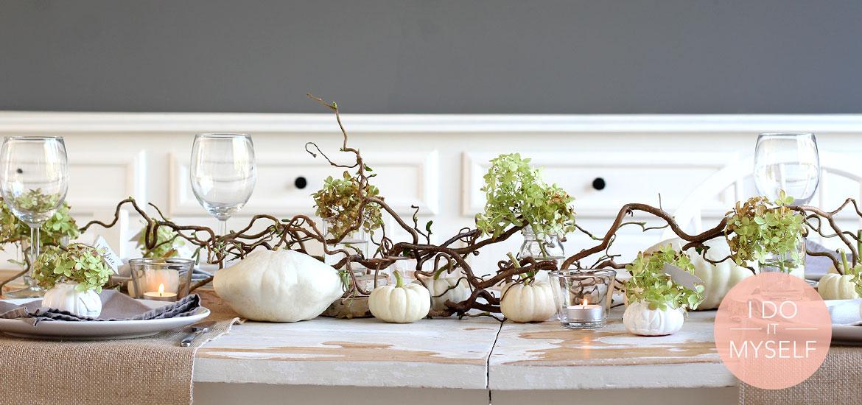 DIY 36 – Table d'Halloween champêtre