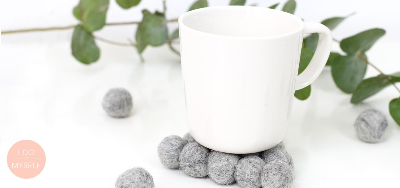 DIY 50 – Sous-tasses laine