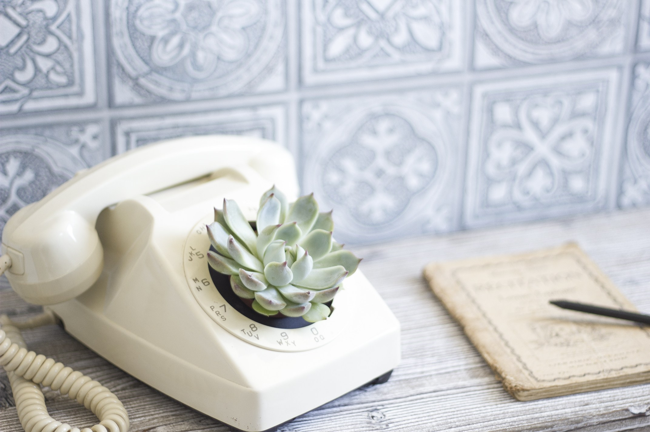 DIY vieux téléphone