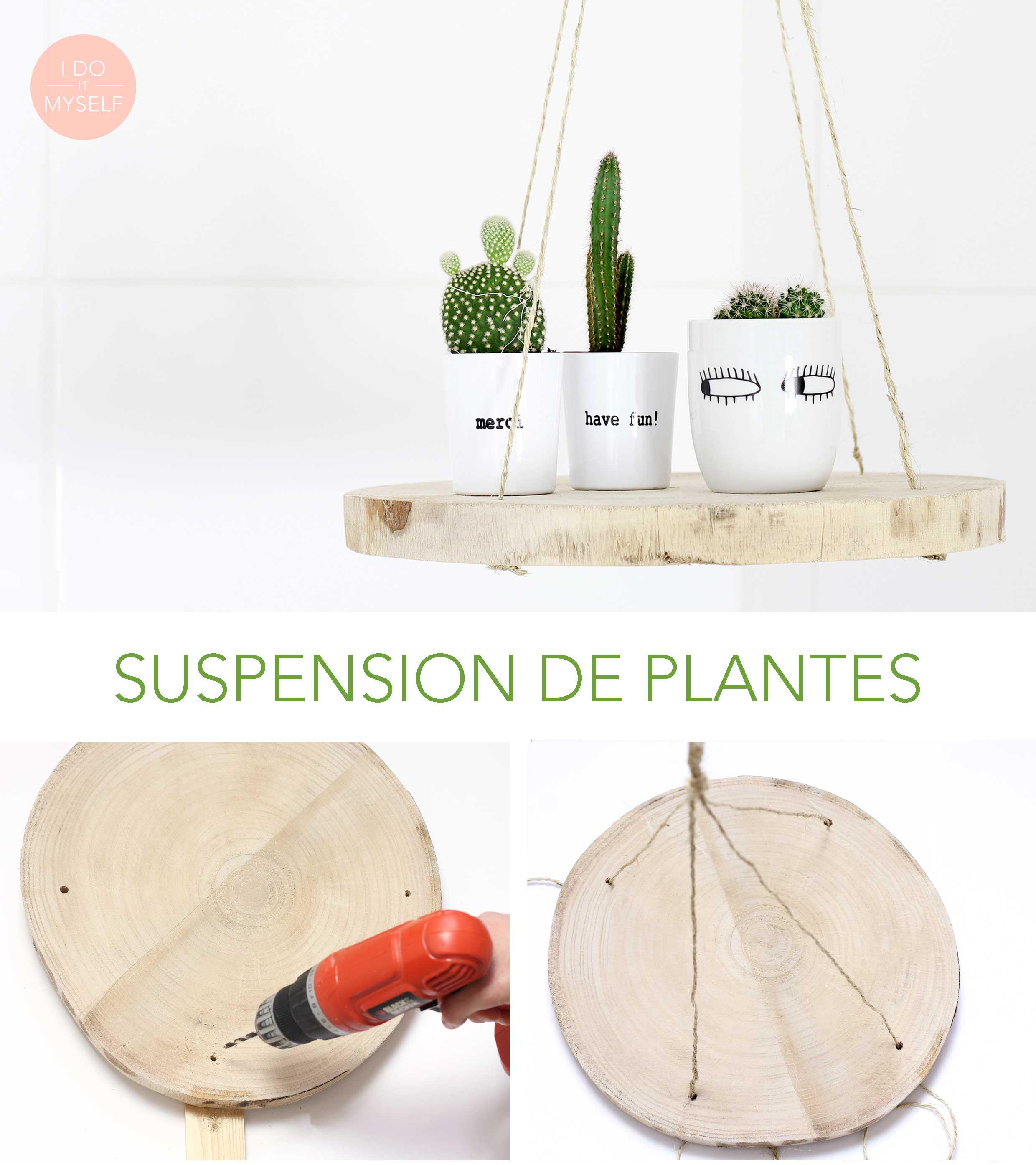 Suspension bois