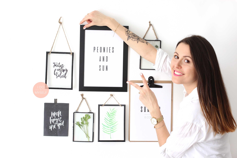 DIY frame gallery
