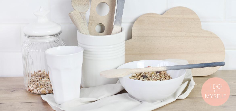 DIY 60 – Ustensiles de cuisine dégradés