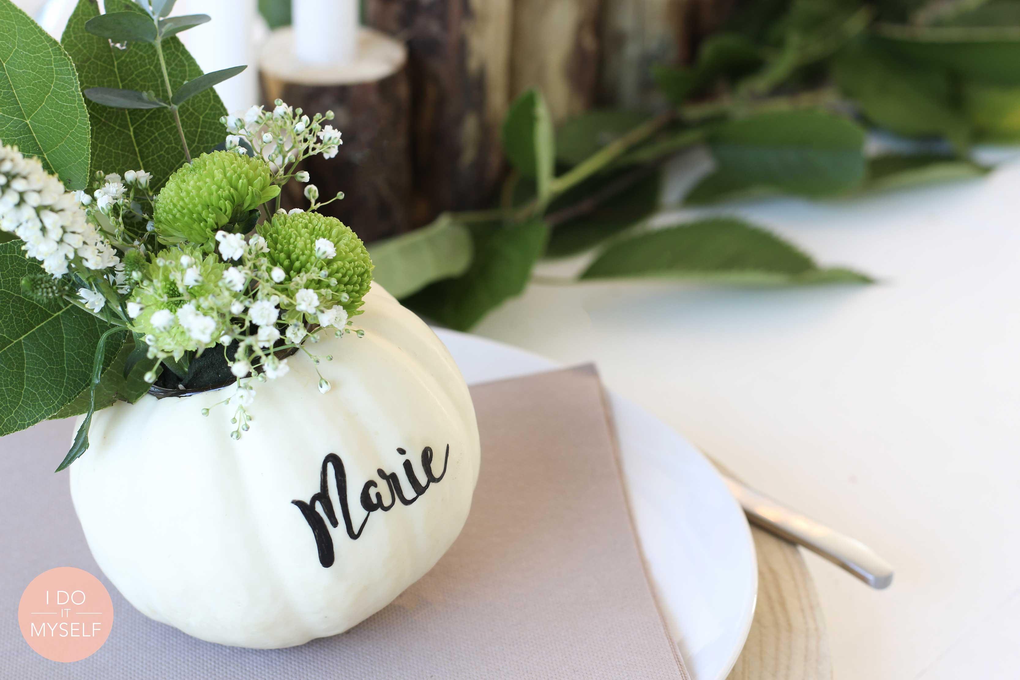 Vase potiron DIY