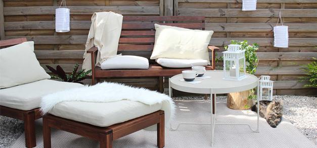 Ma terrasse avec Ikea