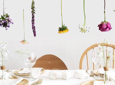 Table fleurie avec Bloomon