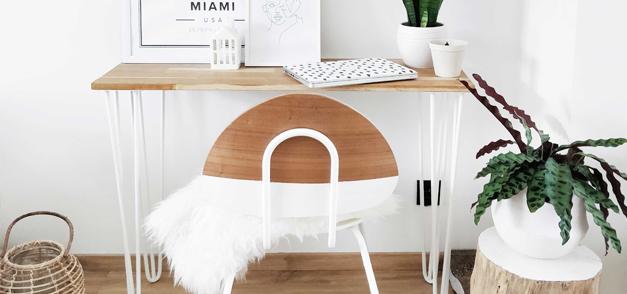 DIY 83 – Customisation d'une chaise d'école